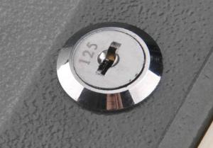 lock for storage unit